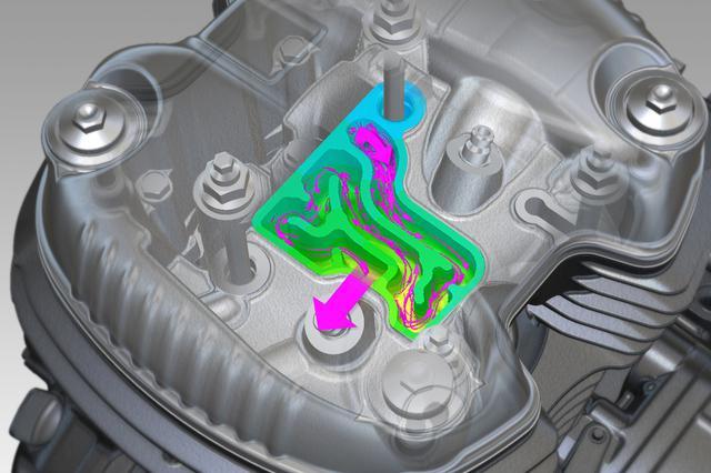 画像8: 「GB350」「GB350S」のエンジン・フレーム・電子制御システム