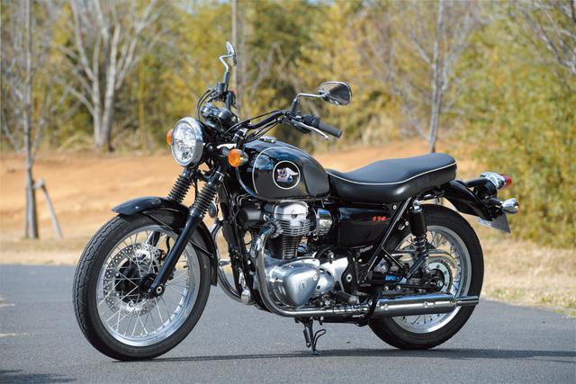 画像: Kawasaki MEGUO K3 総排気量:773cc エンジン形式:空冷4ストOHC4バルブ並列2気筒 シート高:790mm 車両重量:227kg メーカー希望小売価格:127万6000円(税込) 発売日:2021年2月1日