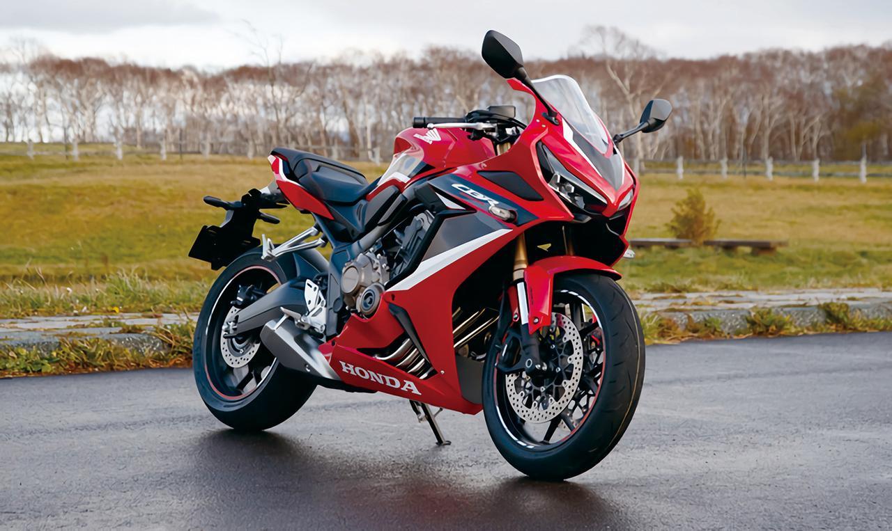 画像: Honda CBR650R 総排気量:648cc エンジン形式:水冷4ストDOHC4バルブ並列4気筒 シート高:810mm 車両重量:206kg メーカー希望小売価格:税込105万6000円/108万9000円(レッド) 発売日:2021年1月28日