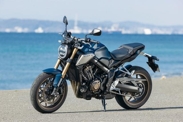 画像: Honda CB650R 総排気量:648cc エンジン形式:水冷4ストDOHC4バルブ並列4気筒 シート高:810mm 車両重量:201kg メーカー希望小売価格:税込97万9000円 発売日:2021年1月28日