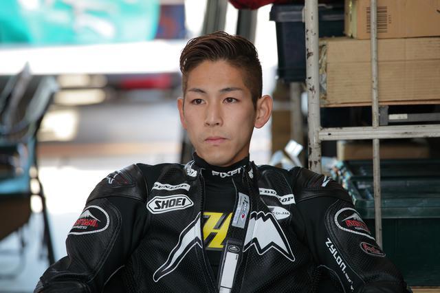 画像: 尾野弘樹がJ-GP3に帰ってきました もうベテラン組に入っちゃうのかな 若手の優しい高い壁に!