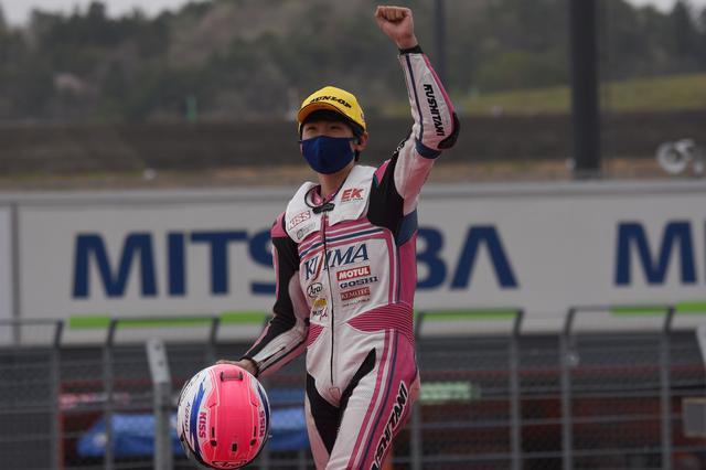 画像: キジマで2年目を迎える鈴木は大阪人な17歳 オトナのレース運びするわぁ