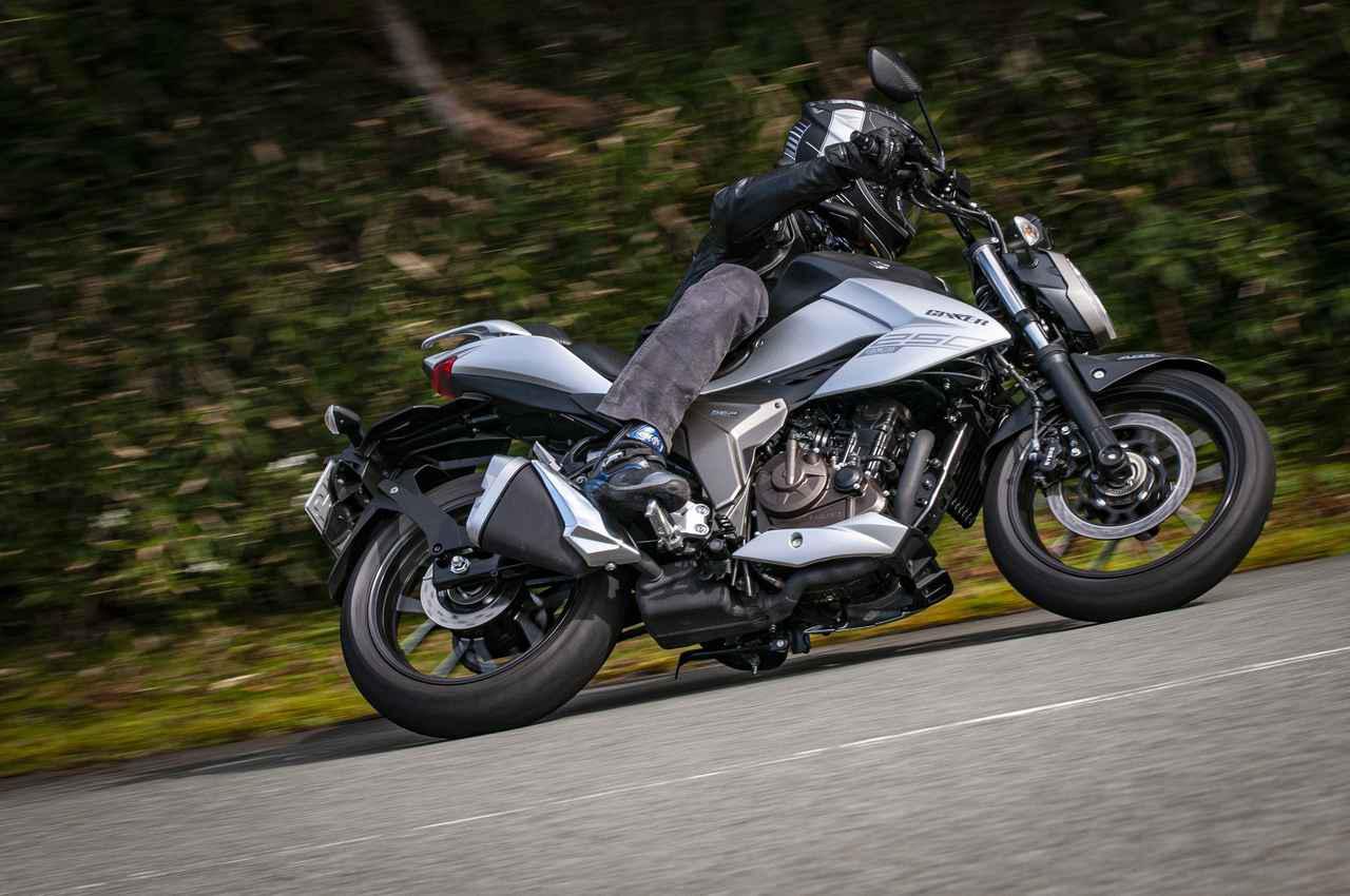 画像: スズキ「ジクサー250」「ジクサーSF250」比較インプレ - webオートバイ