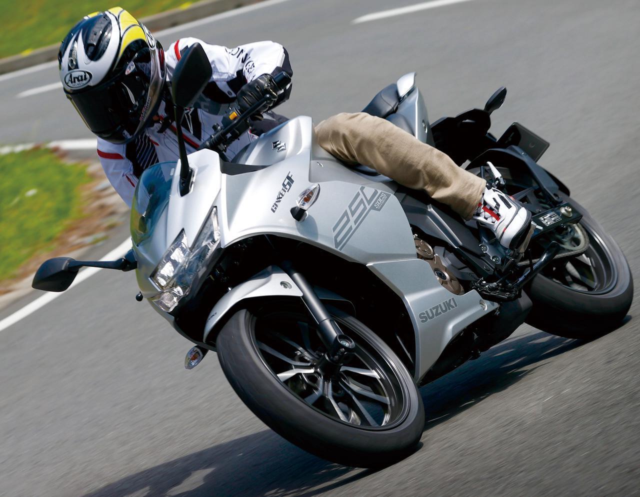 画像: 「ジクサーSF250」インプレ・解説 - webオートバイ