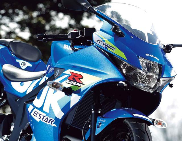 画像: スズキ「GSX-R125」インプレ・解説(2021年)- webオートバイ