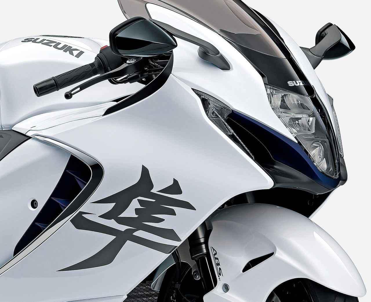 画像: スズキ新型「ハヤブサ」概要はこちら - webオートバイ