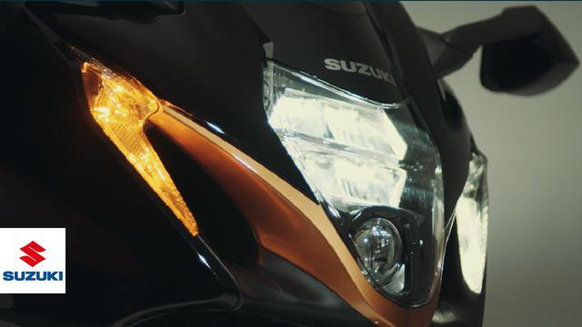 画像: Hayabusa | official technical presentation video = New Styling, Lighting Design version.= |  Suzuki www.youtube.com