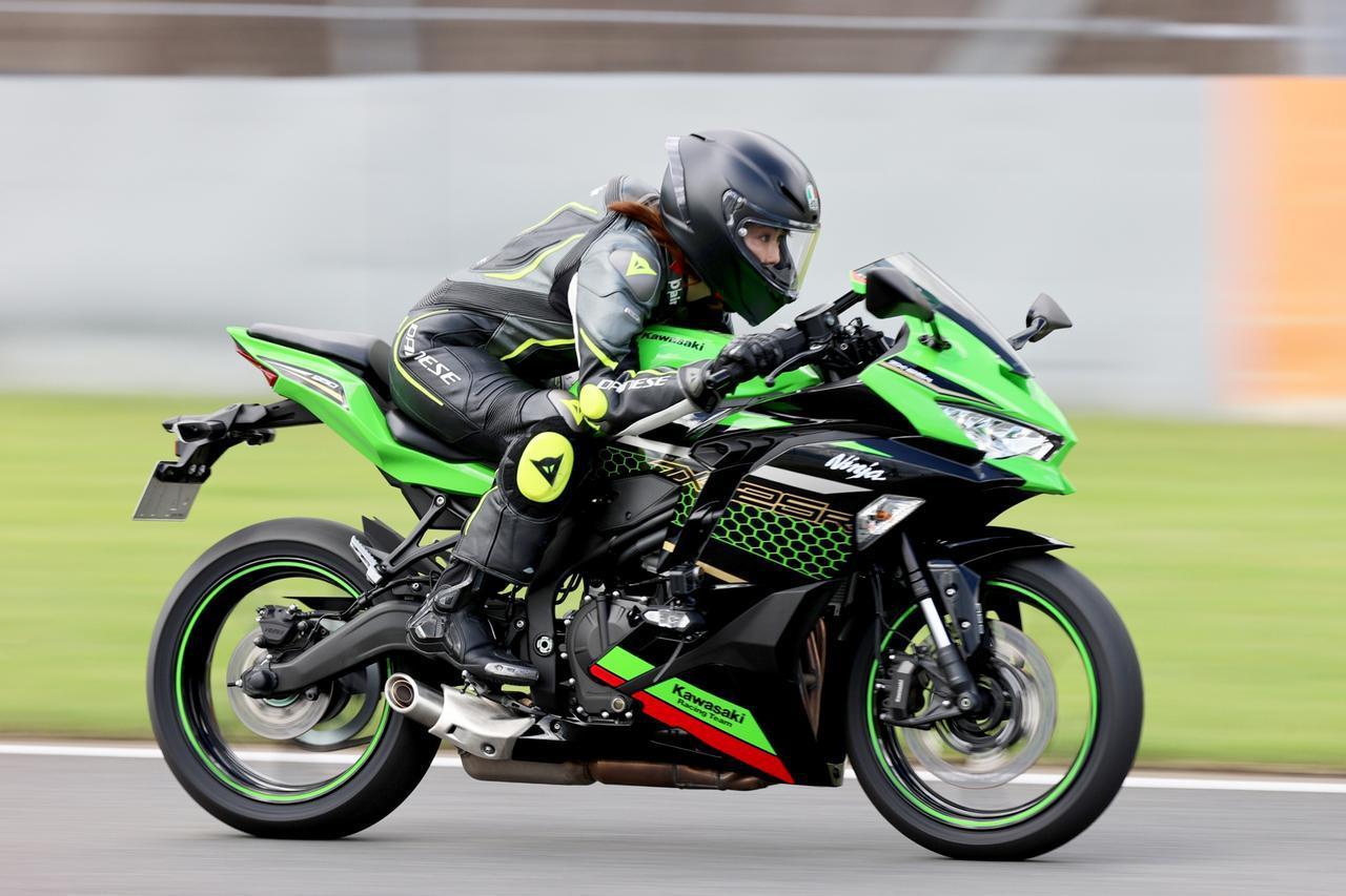 画像: カワサキ「Ninja ZX-25R」最高速計測 - webオートバイ