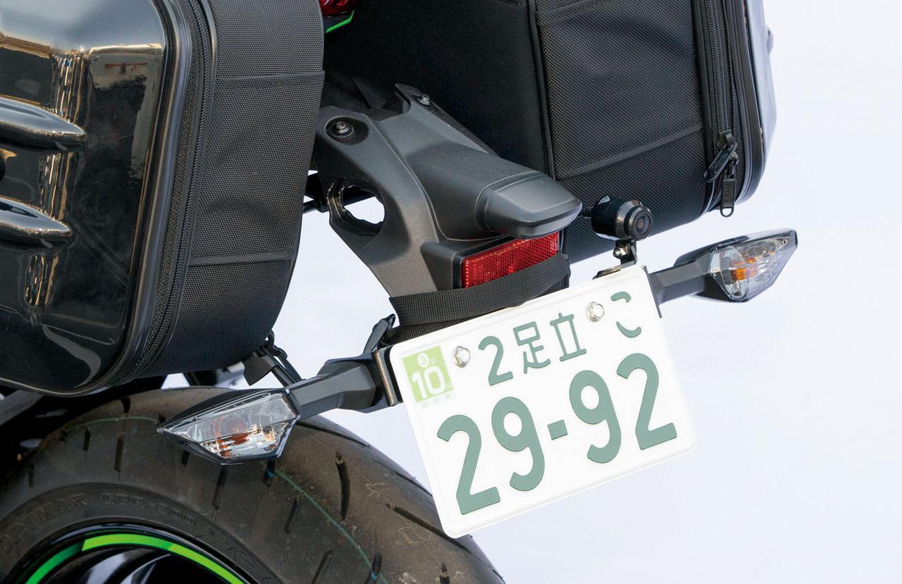 画像9: カワサキ「Ninja ZX-25R」カスタムパーツ紹介|ツーリングを快適にするキジマの用品群