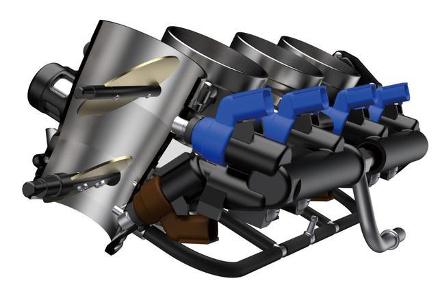 画像2: 【隼】スズキ新型「ハヤブサ」のエンジンを解説! 磨き抜かれた1340cc 4気筒エンジンは、トルクの谷を解消し加速性能をアップ