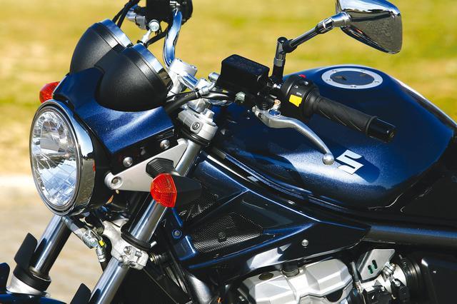 画像: スタンダードにも、ボディ同色のメーターバイザーやフレームカバーを採用。高い質感をアピールしている。