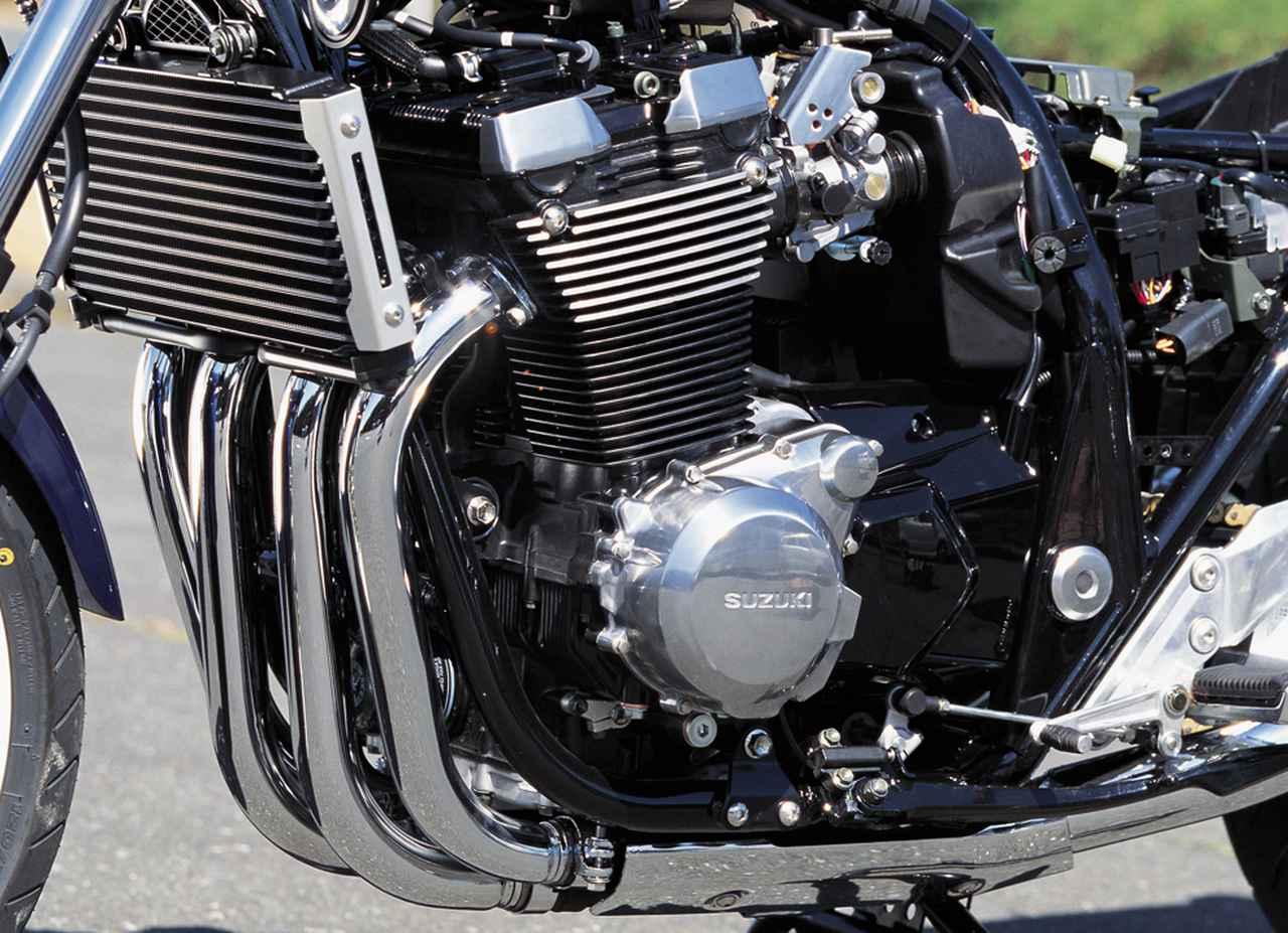 画像: 「最強のネイキッド」を具現化するため、排気量を1401cc(ボア81mm×ストローク68mm)へと拡大。