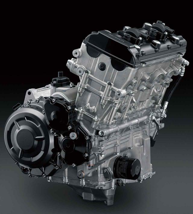 画像: 新型のエンジンはヘッドやクランクケース、ボア×ストロークなど基本的な設計は従来モデルのままだが、徹底した改良を施された。