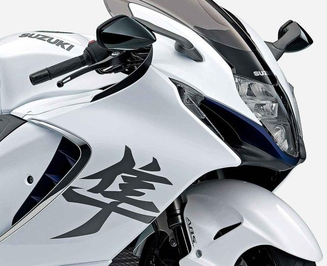 画像: スズキ新型「ハヤブサ」国内仕様車の情報・人気カラー投票 - webオートバイ