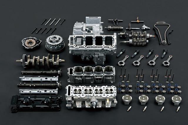 画像: スズキ新型「ハヤブサ」のエンジン特性