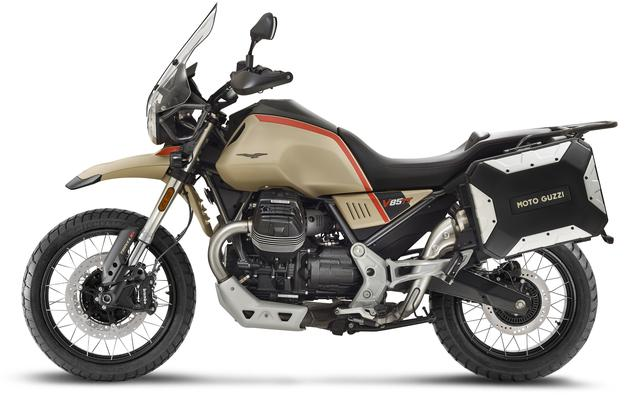 画像: MOTO GUZZI V85 TT Travel 排気量:853cc エンジン形式:空冷4ストOHV V型2気筒 シート高:830mm 車両重量:243kg 発売日:2021年6月予定 メーカー希望小売価格:税込167万2000円