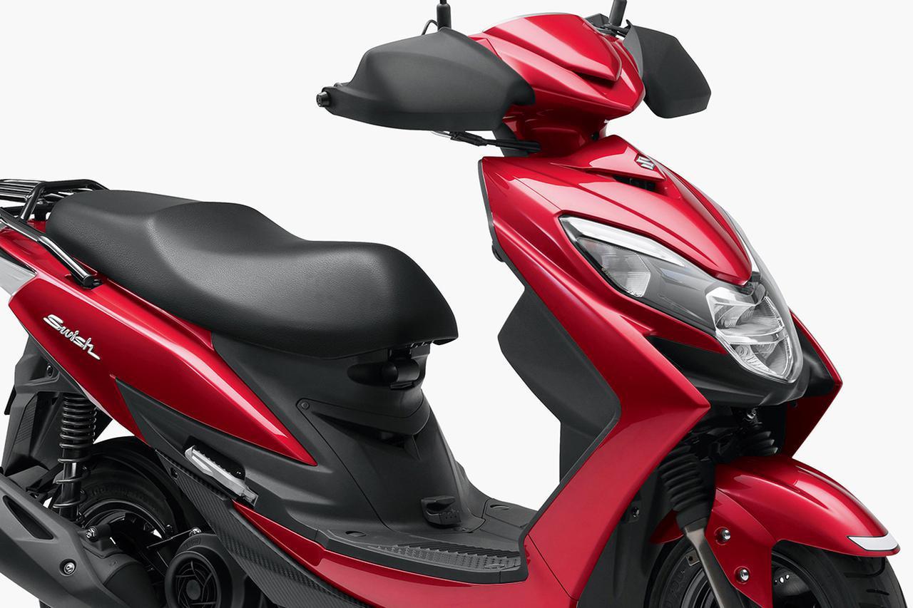 画像: 価格差は2万2000円 「スウィッシュ」と「リミテッド」買うならどっちだ? - webオートバイ