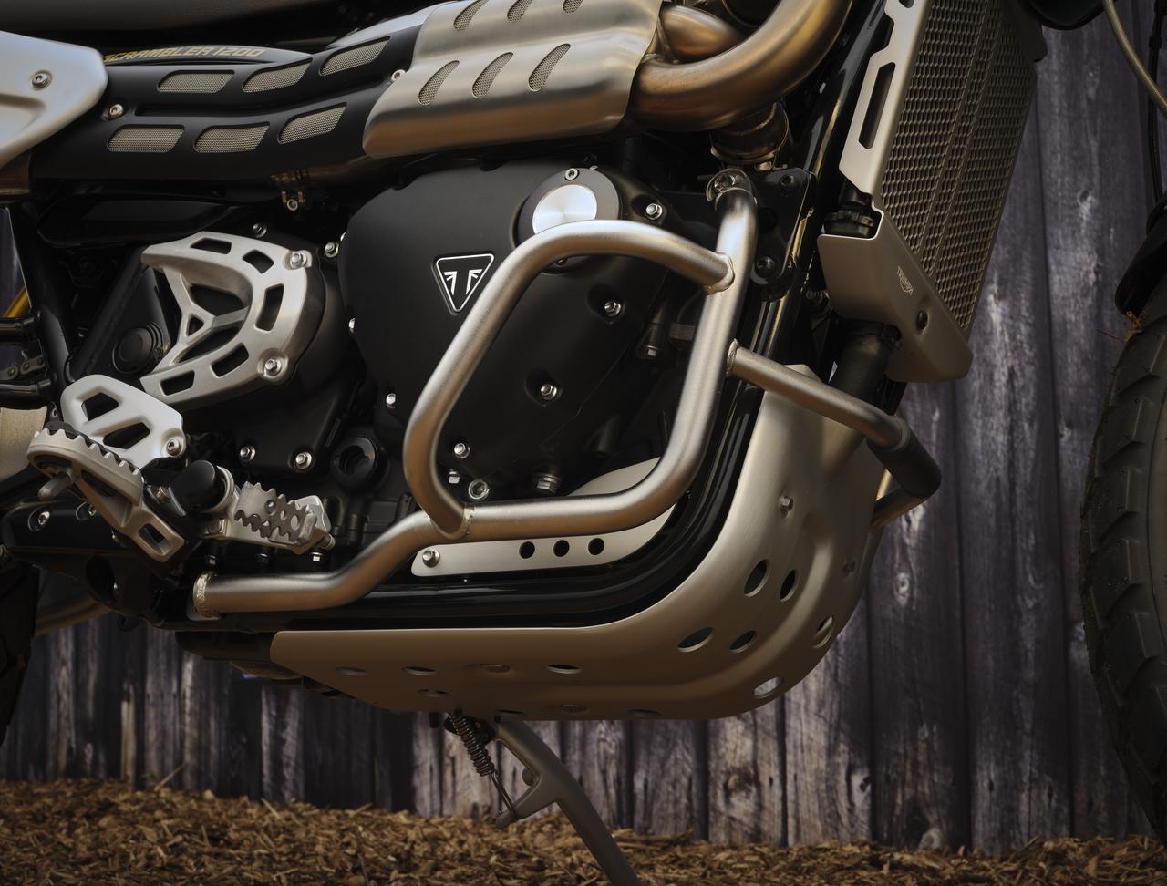 画像5: トライアンフ「スクランブラー1200 スティーブ・マックイーン エディション」の特徴