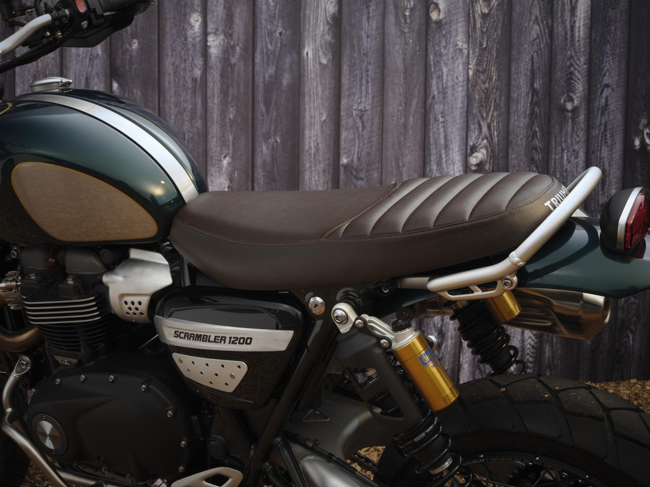 画像6: トライアンフ「スクランブラー1200 スティーブ・マックイーン エディション」の特徴