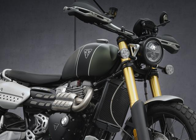 画像5: トライアンフ「スクランブラー1200XC」「スクランブラー1200XE」2021年モデルの特徴