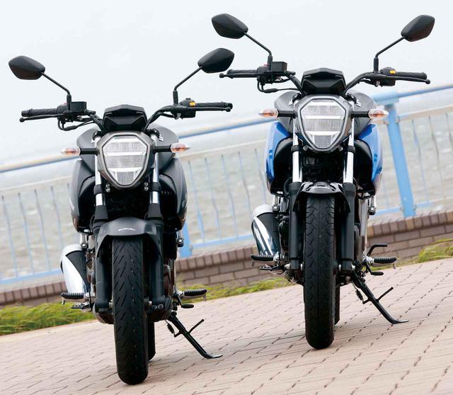 画像: 【クイズ】街でスズキ・ジクサーを見かけたときの「150」と「250」の見極め方 - webオートバイ