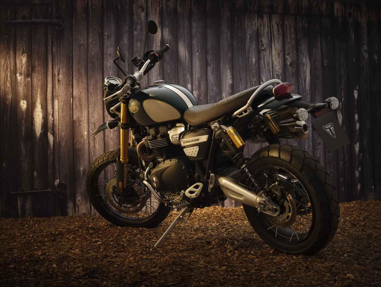 画像1: トライアンフ「スクランブラー1200 スティーブ・マックイーン エディション」の特徴