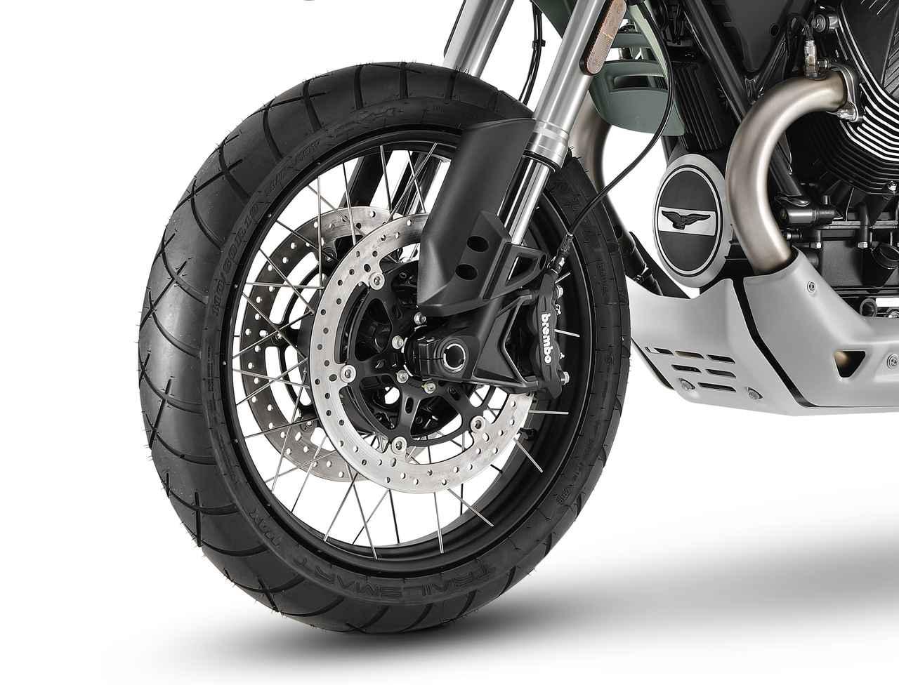画像2: モト・グッツィ新型「V85 TT」シリーズの特徴