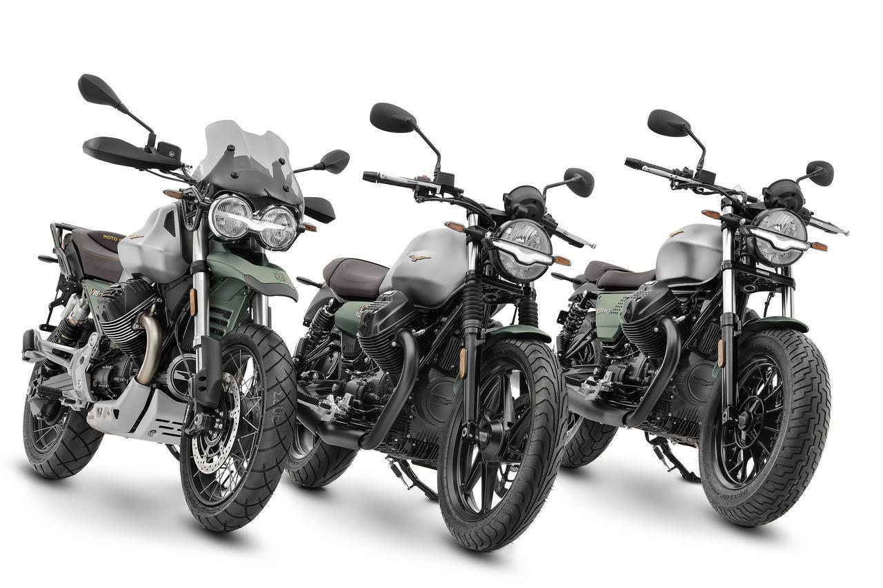 画像: モト・グッツィは2021年で創立100周年! V7・V9・V85TTの記念モデルが登場 - webオートバイ