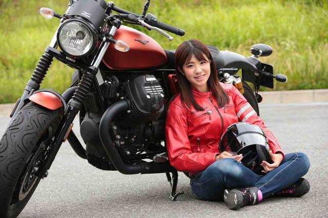画像: モト・グッツィ「V9ボバースポーツ」梅本まどかのレビュー - webオートバイ