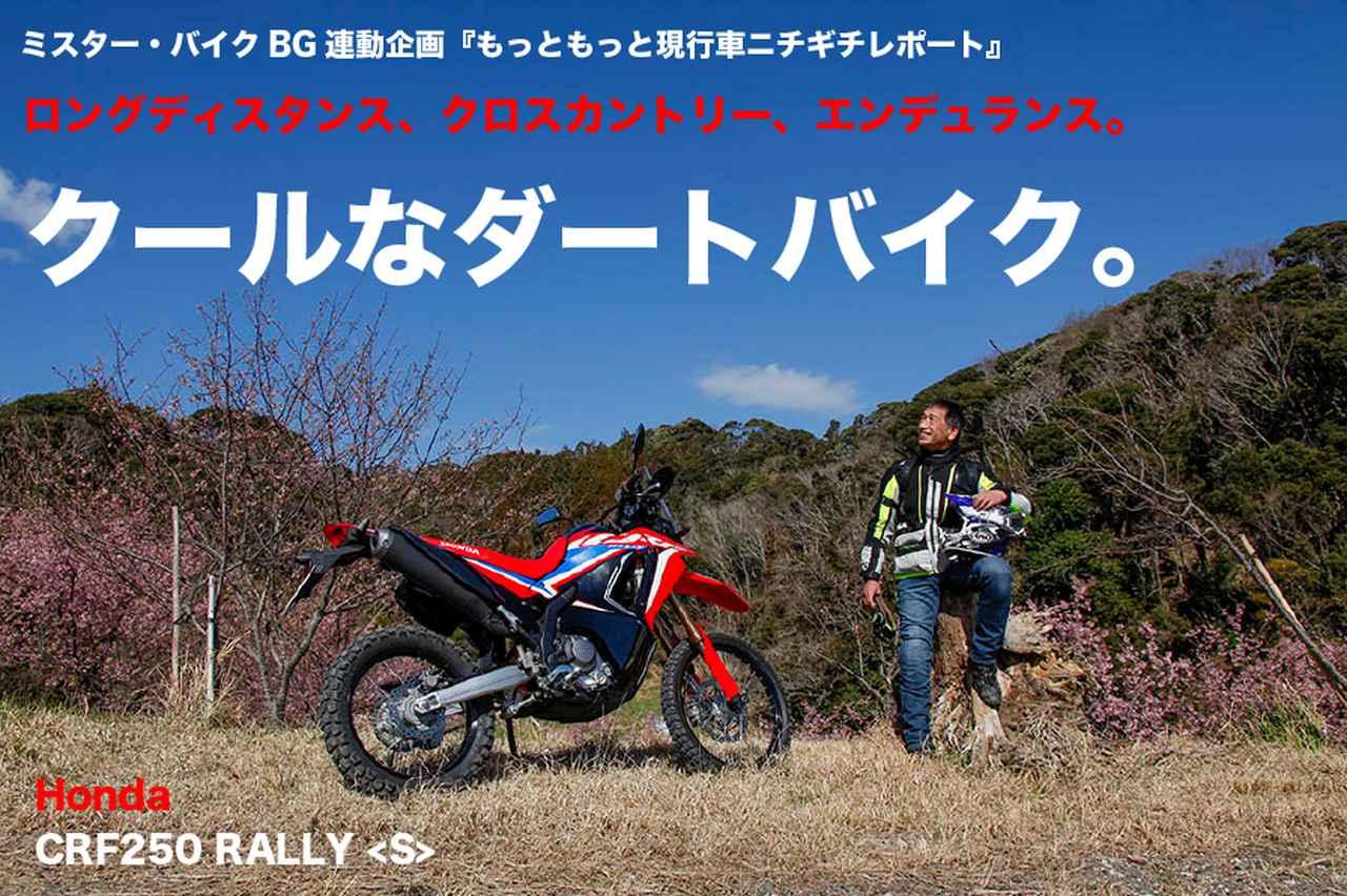 画像: Honda CRF250 RALLY ロングディスタンス、クロスカントリー、エンデュランス。 クールなダートバイク。   WEB Mr.Bike