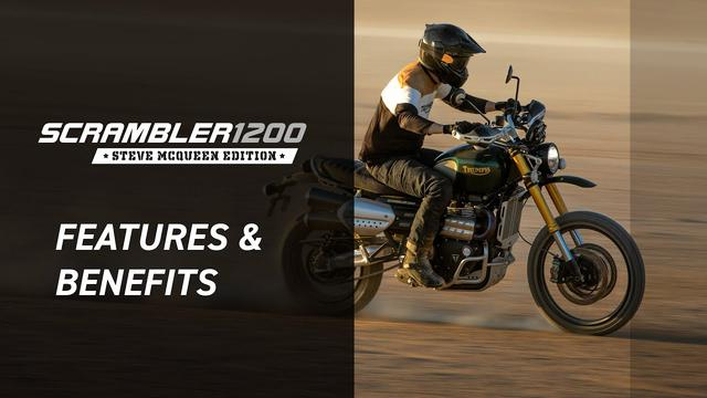 画像: New Scrambler 1200 Steve McQueen Edition Features and Benefits www.youtube.com