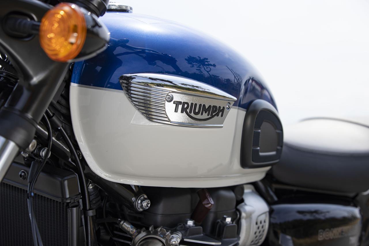Images : 11番目の画像 - 【写真をもっと見る】トライアンフ新型「ボンネビルT100」(18枚) - webオートバイ
