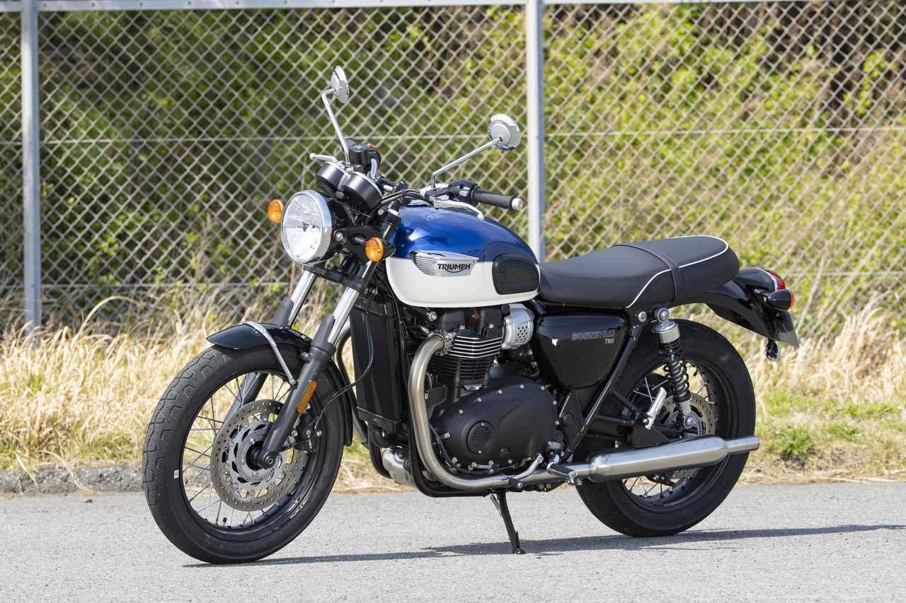 Images : 3番目の画像 - 【写真をもっと見る】トライアンフ新型「ボンネビルT100」(18枚) - webオートバイ