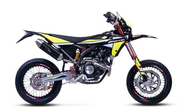 画像: FANTIC XMF125 総排気量:124.6cc エンジン形式:水冷4ストSOHC4バルブ単気筒 メーカー希望小売価格:税込91万3000円
