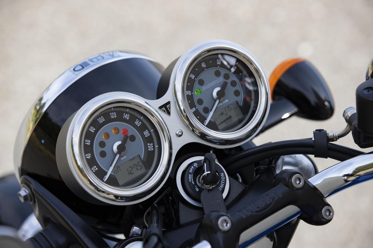 Images : 12番目の画像 - 【写真をもっと見る】トライアンフ新型「ボンネビルT100」(18枚) - webオートバイ