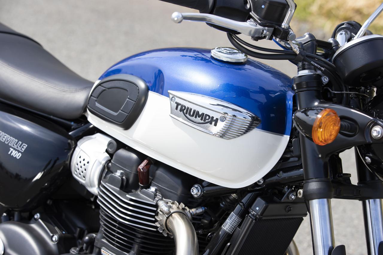 Images : 5番目の画像 - 【写真をもっと見る】トライアンフ新型「ボンネビルT100」(18枚) - webオートバイ