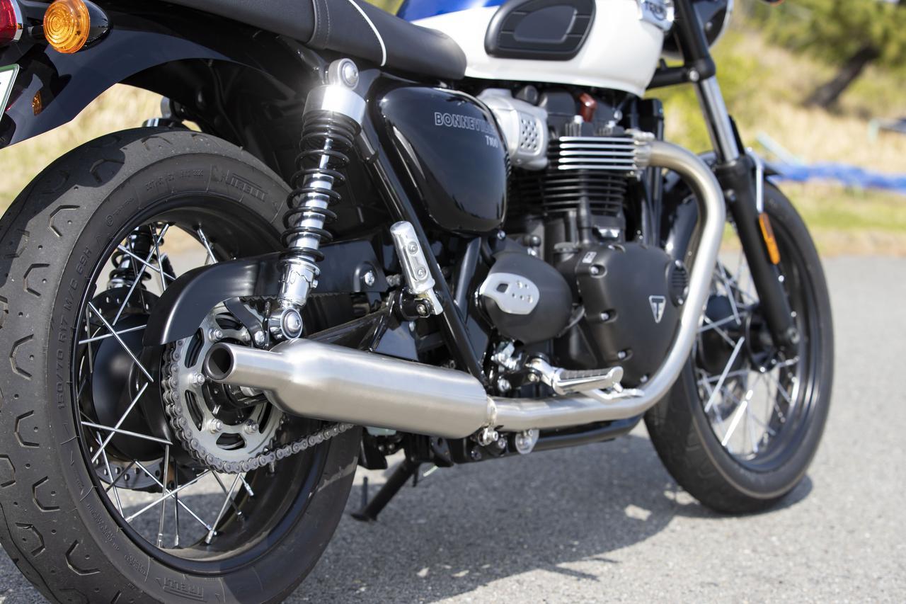 Images : 8番目の画像 - 【写真をもっと見る】トライアンフ新型「ボンネビルT100」(18枚) - webオートバイ