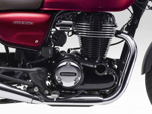 画像: ホンダ「GB350」「GB350S」メカニズム考察 - webオートバイ