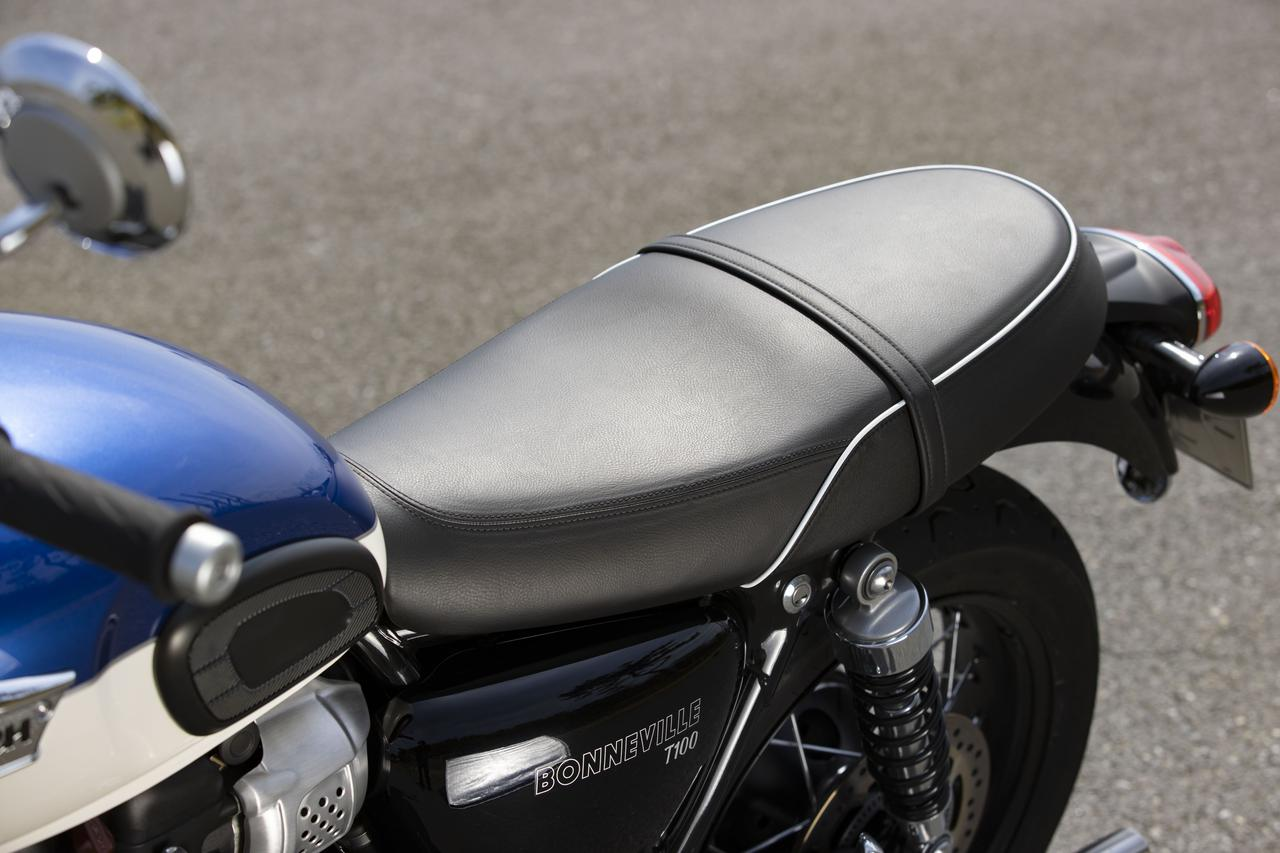 Images : 10番目の画像 - 【写真をもっと見る】トライアンフ新型「ボンネビルT100」(18枚) - webオートバイ
