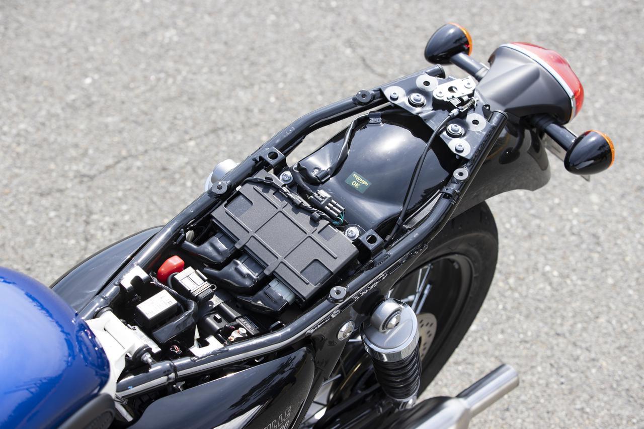 Images : 13番目の画像 - 【写真をもっと見る】トライアンフ新型「ボンネビルT100」(18枚) - webオートバイ