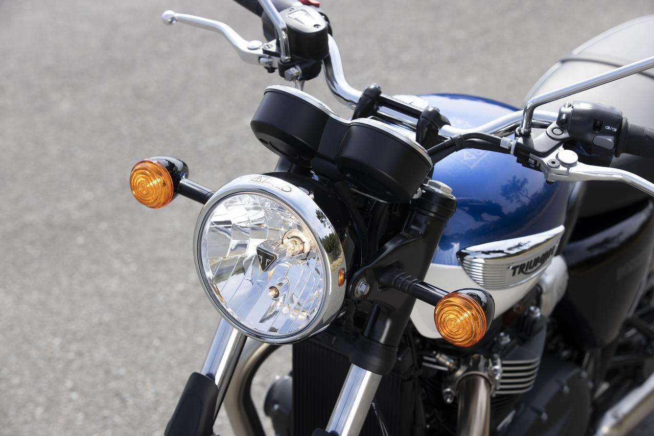 Images : 14番目の画像 - 【写真をもっと見る】トライアンフ新型「ボンネビルT100」(18枚) - webオートバイ