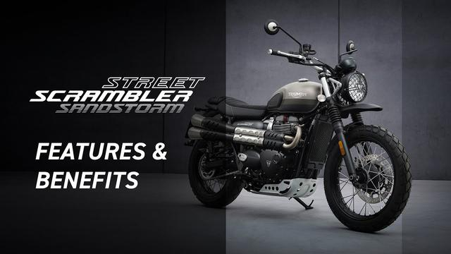 画像: New Street Scrambler Sandstorm Edition Features and Benefits www.youtube.com
