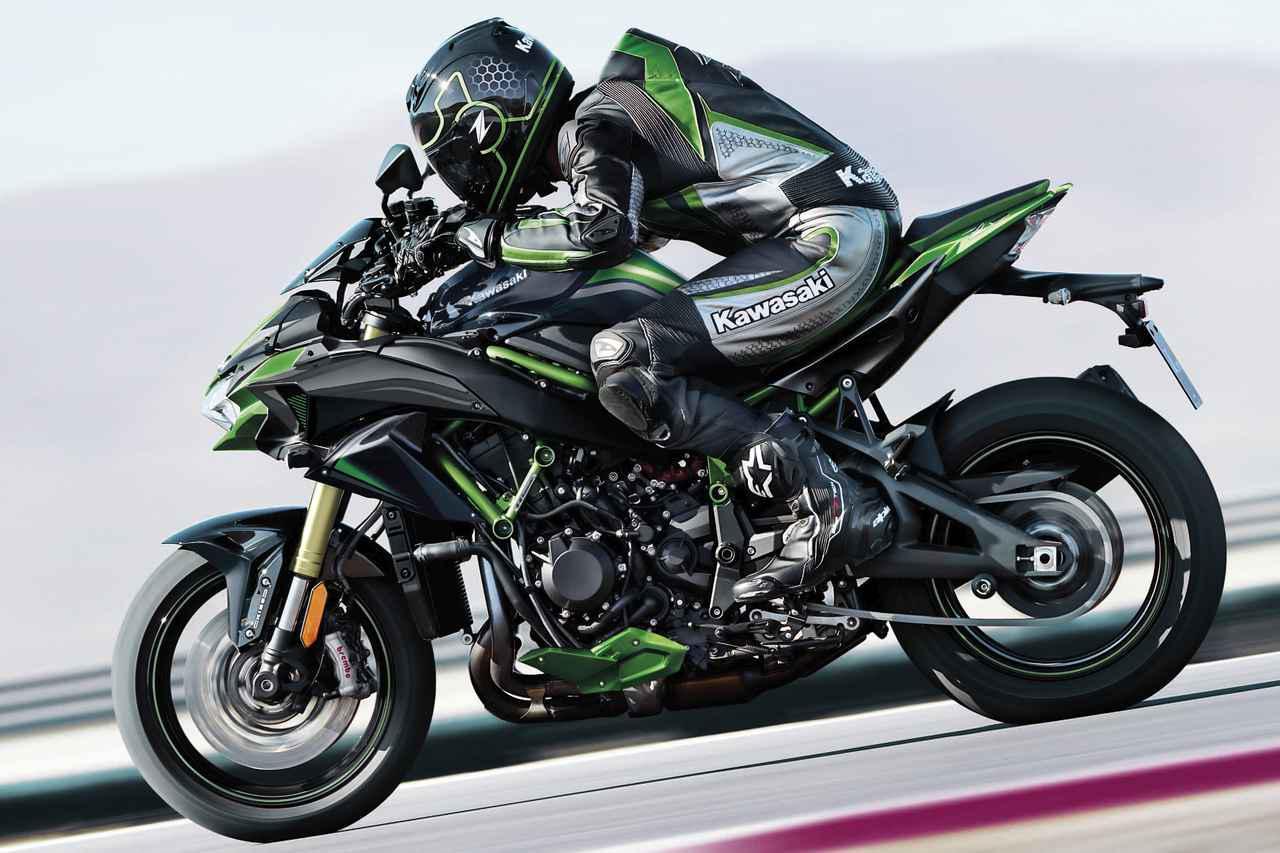画像: 上級仕様車「Z H2 SE」も2021年4月に発売 - webオートバイ