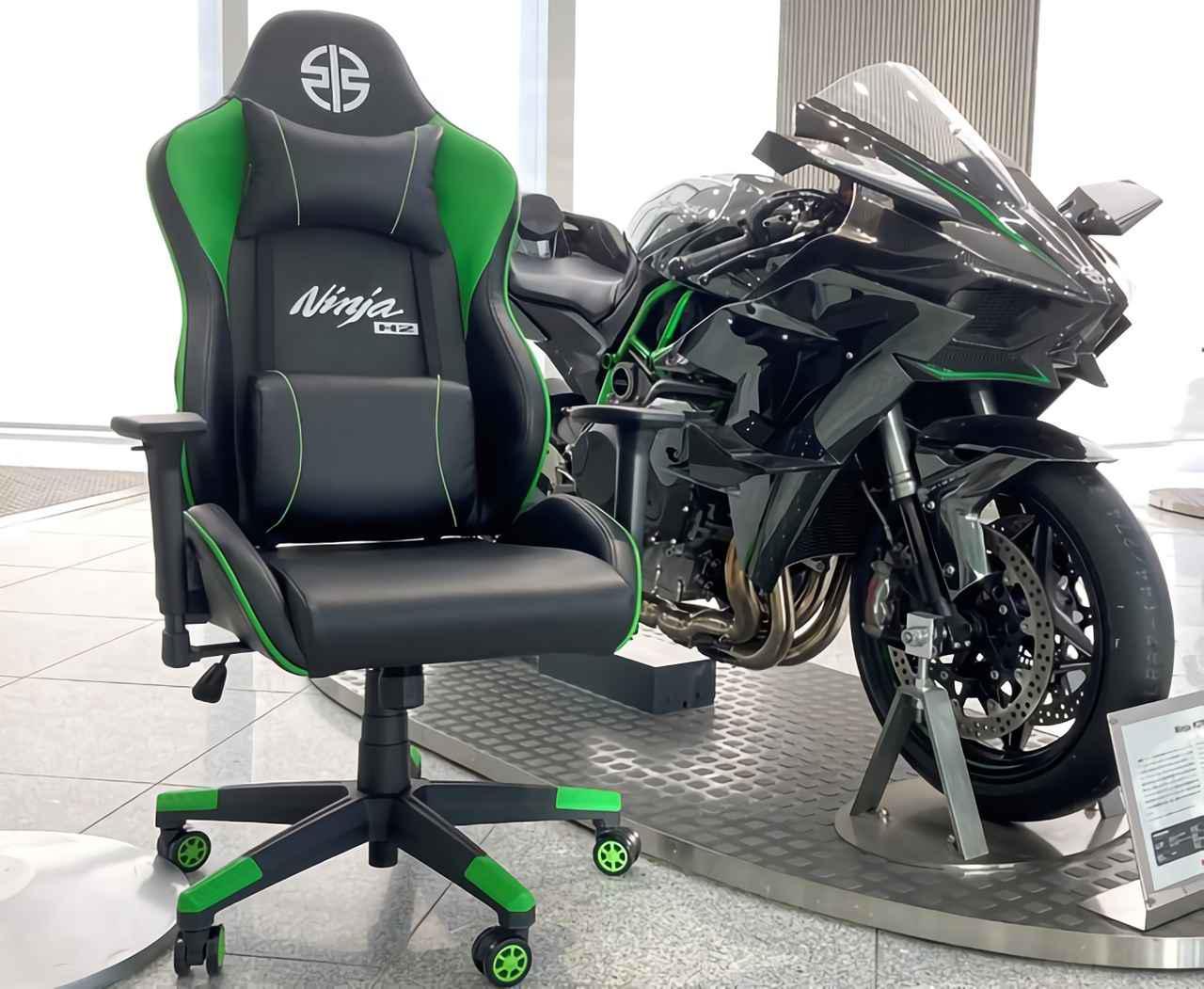 画像: Ninja H2をイメージしたゲーミングチェアが登場 - webオートバイ