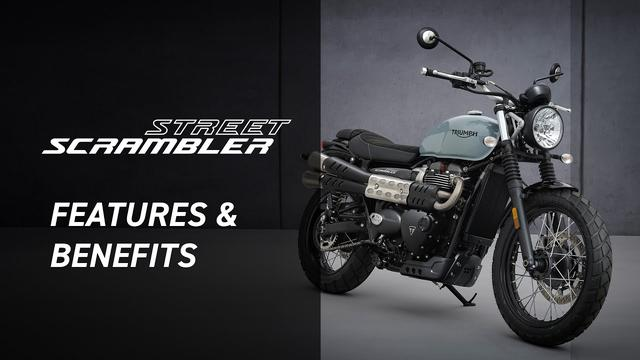 画像: New Street Scrambler Features and Benefits www.youtube.com