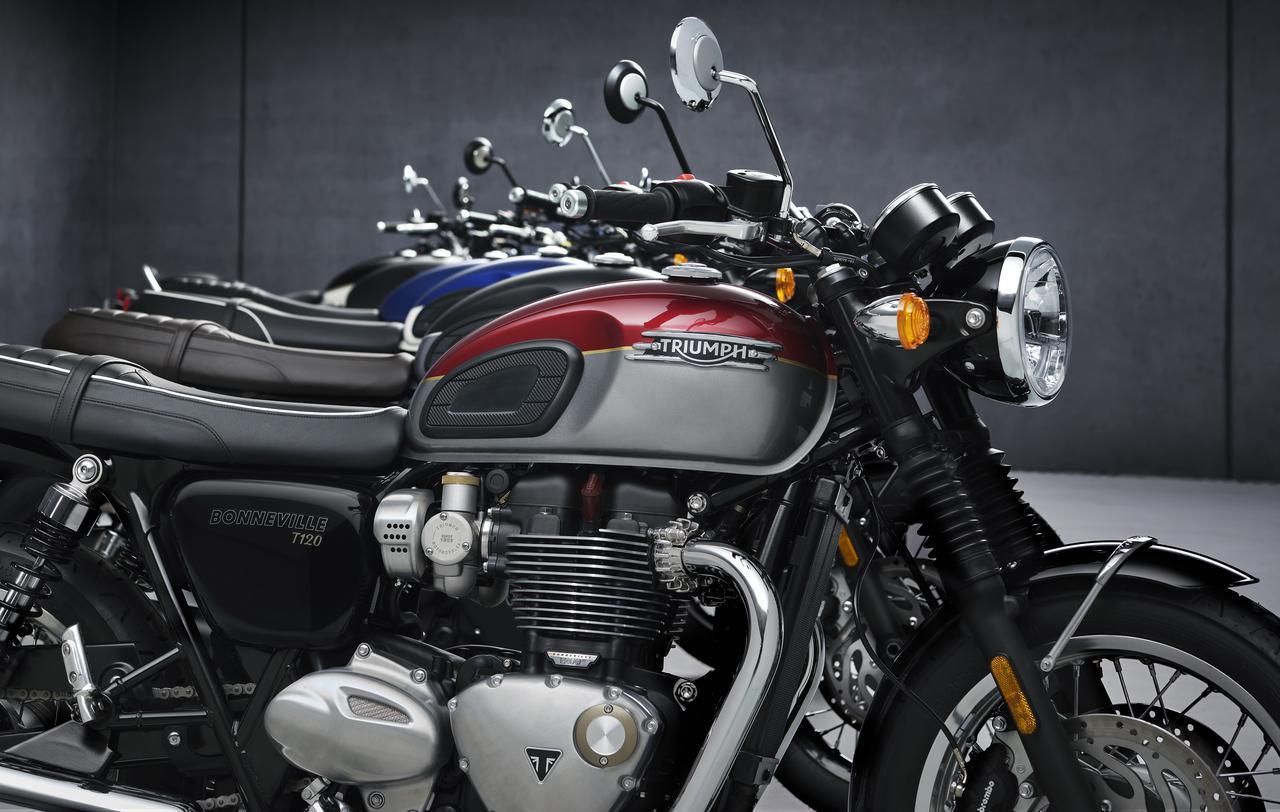 画像: トライアンフが一挙6機種のモデルチェンジを発表! 人気のボンネビル&ストリートツインが一新 - webオートバイ