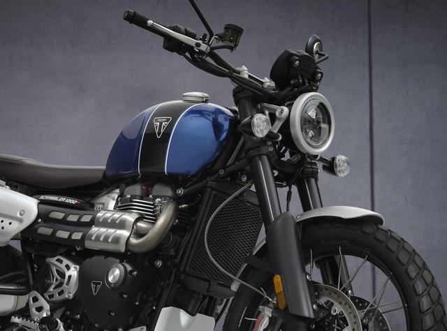 画像: トライアンフが新型「スクランブラー1200XC / XE」を発表! - webオートバイ