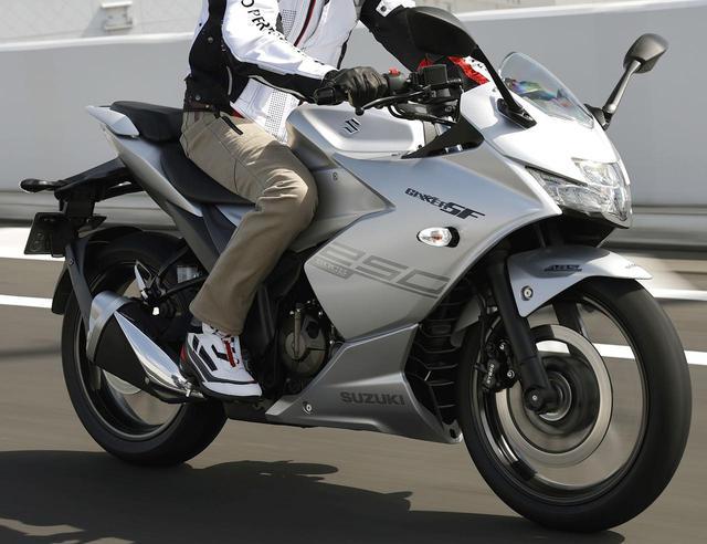 画像: 「ジクサーSF250」ツーリング・インプレ「GSX250R」との乗り心地を比較 - webオートバイ