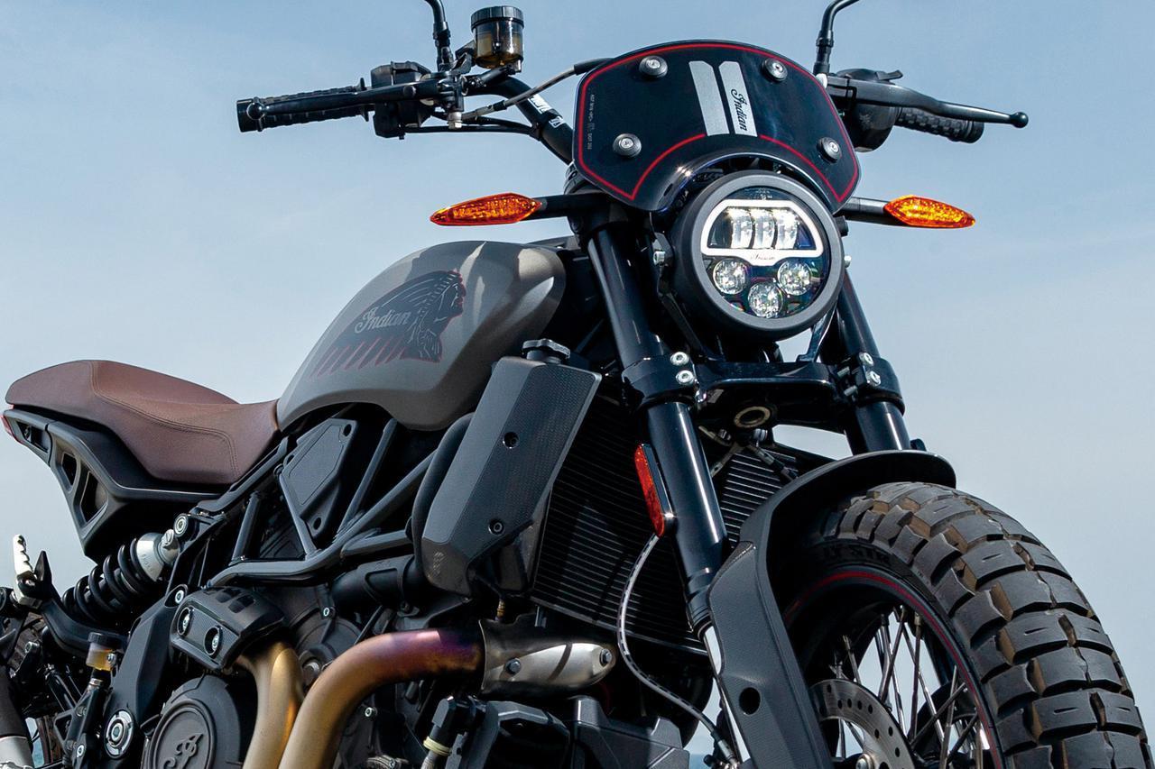 画像: 【インプレ】インディアン「FTR ラリー」 - webオートバイ