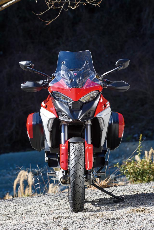 画像1: ドゥカティ「ムルティストラーダ V4 S」インプレ・解説(2021年)新型エンジン+ハイテク装備が生む圧倒的パフォーマンス